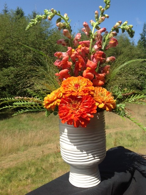 organic flower arrangements for special occasions on south Whidbey Island