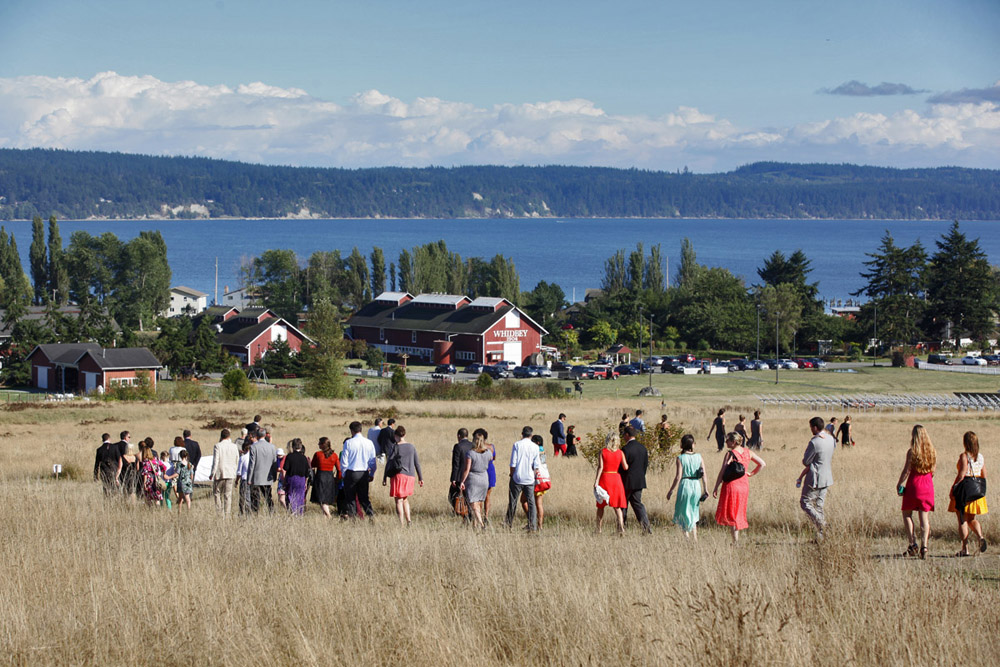 whidbey island wedding at greenbank farms