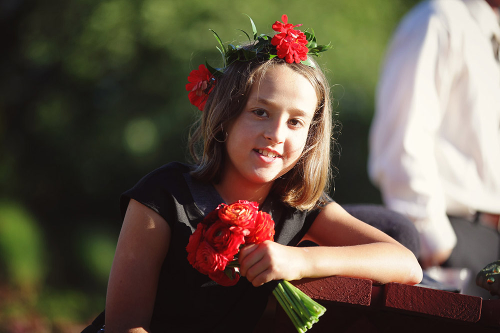 wedding flowers whidbey island flower girl crown
