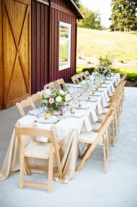 head table for a wedding