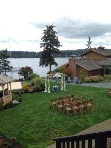 backyard wedding freeland washington