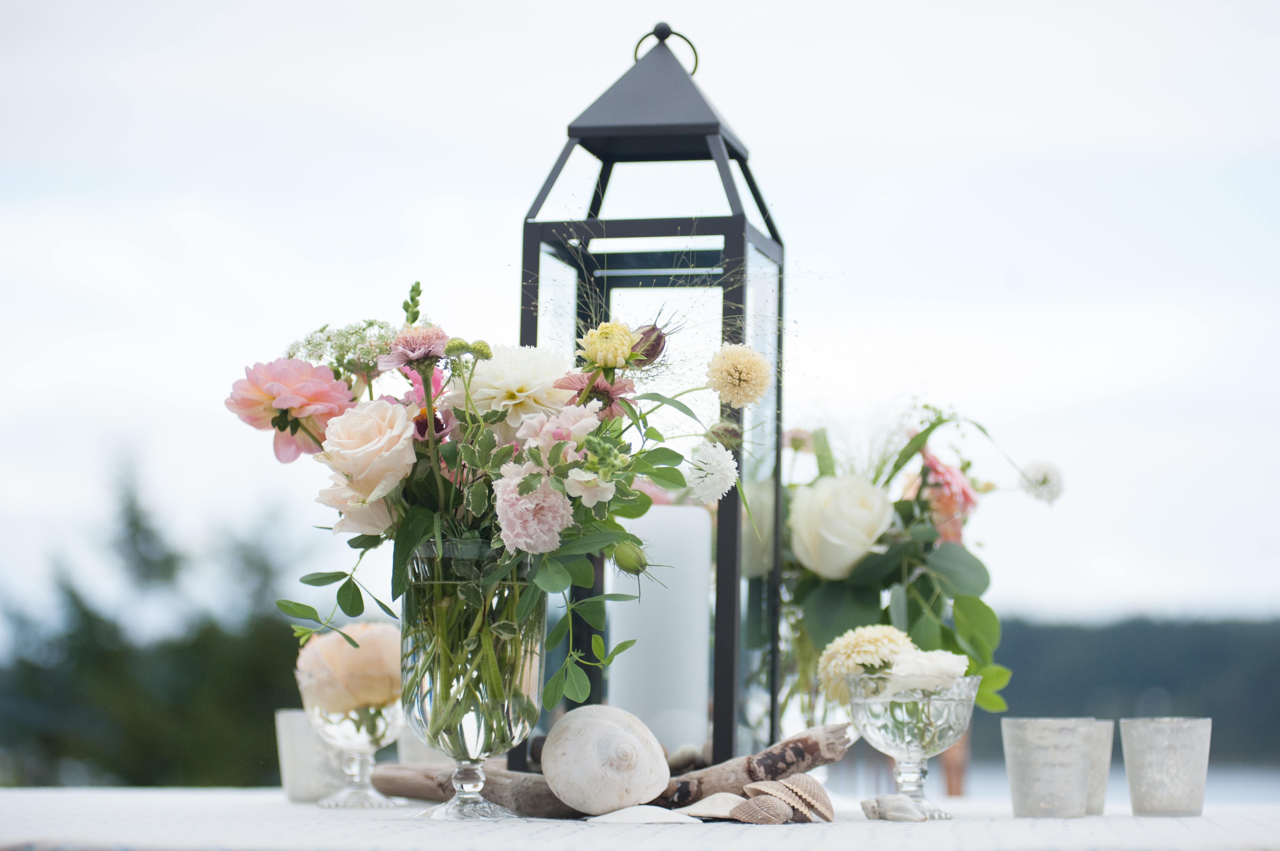 A Wedding at Home on Whidbey Island | Tobey Nelson Weddings + Events