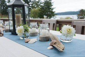 Whidbey Island beach wedding by Vases Wild
