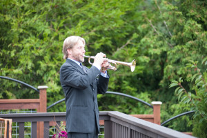 trumpet solo by Whidbey Brass