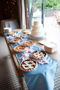 Pie by Whidbey Pies & Cafe Cake by Treetop Baking