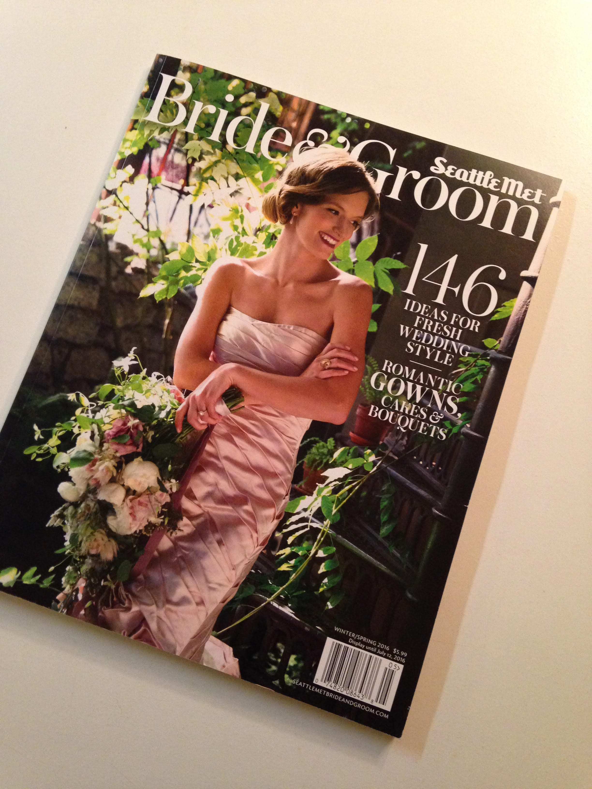vases wild featured seattle bride groom magazine