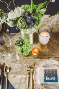 Wedding tablescape by Vases Wild