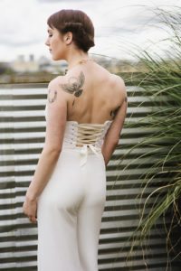bridal pantsuit by French Knot Couture image by Suzanne Rothmeyer