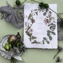 Grey & Cake is an invitations contributor to Whidbey Island Flower Workshop