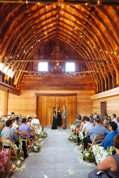 Whidbey Island Barn wedding venue