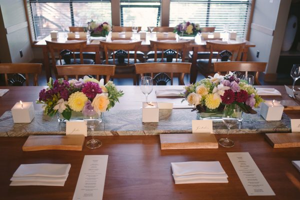 Wedding reception at the Inn at Langley