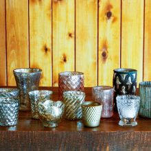 Whidbey Island wedding rentals Complete votive collection