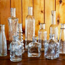 Whidbey Island wedding rentals Bottle collection