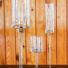 Whidbey Island wedding rentals Modern pedestal cylinders